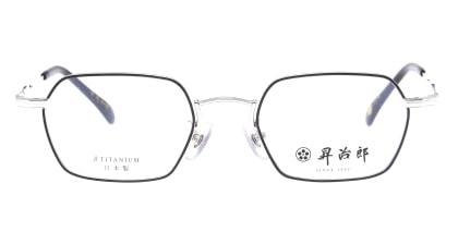 昇治郎 6020-SI/BK-48 メガネを試着で購入