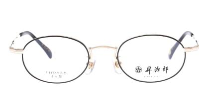 昇治郎 6019-WG/BK-47 メガネを試着で購入