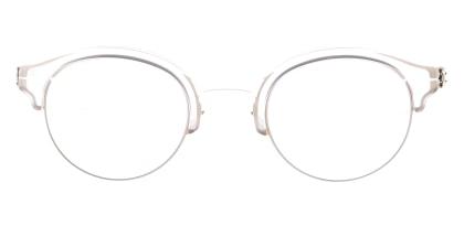 アイシーベルリン Dahlem-Bronze-Ecru -RX-Clear -Mittwoch メガネを試着で購入