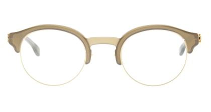 アイシーベルリン Dahlem-Matt-Gold-Seaweed-Milky -RX-Clear -Mittwoch メガネを試着で購入