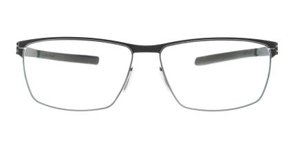 アイシーベルリン Sven H-Black -RX-Clear -Flex メガネを試着で購入