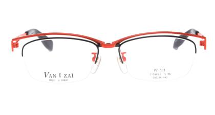 バンザイ VZ-531-C-1-54 メガネを試着で購入