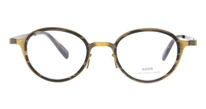 seem Oh My Glasses TOKYO omg-138 Rosa-ATGーDBR-48 メガネを試着で購入