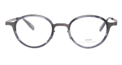 seem Oh My Glasses TOKYO omg-138 Rosa-GRY-48 メガネを試着で購入