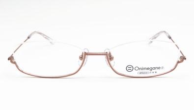 オニメガネ OG7207-LBRー51 メガネを試着で購入