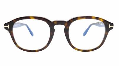 トムフォード FT5698FB AsianFit BLUE BLOCK FILTER-052-50 メガネを試着で購入