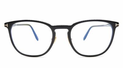 トムフォード FT5700B BLUE BLOCK FILTER-001-52 メガネを試着で購入