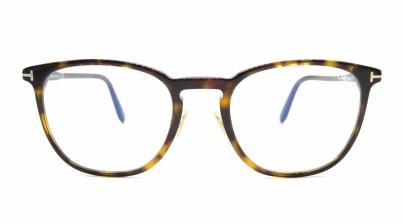 トムフォード FT5700B BLUE BLOCK FILTER-052-52 メガネを試着で購入