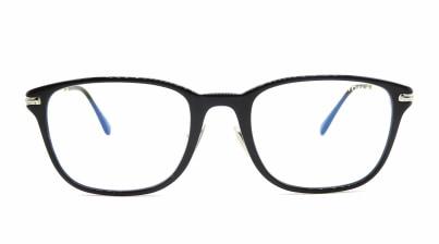 トムフォード FT5715FB AsianFit BLUE BLOCK FILTER-001-53 メガネを試着で購入