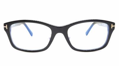トムフォード FT5724DB AsianFit BLUE BLOCK FILTER-001-56 メガネを試着で購入