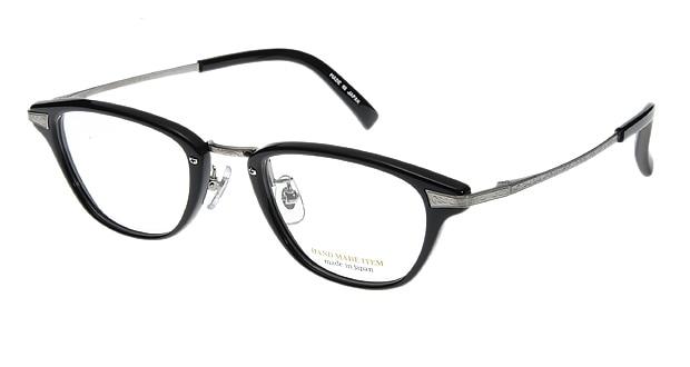 【送料無料】ハンドメイドアイテム H5002-1 メガネ(眼鏡) ウェリントン hand-made-item-H5002-1 ブラック 黒 セルフレーム フルリム HAND MADE ITEM 度付き 伊達メガネ 即日発送 ユニセックス