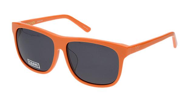 <Oh My Glasses TOKYO> 送料無料!セイバー POOLSIDE SV23-211J サングラス ウェリントン sabre-sv23-211j オレンジ 橙 セルフレーム フルリム SABRE サングラス:UVカット 即日発送 ユニセックス