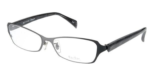 <Oh My Glasses TOKYO> 送料無料!ツェツェ T2301-2 メガネ(眼鏡) スクエア tsetse-t2301-2 グレー 灰 セルフレーム フルリム tse tse 度付き 伊達メガネ 即日発送 メンズ画像