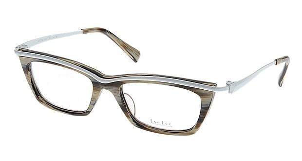 <Oh My Glasses TOKYO> 送料無料!ツェツェ T2204-2 メガネ(眼鏡) ウェリントン tsetse-t2204-2 ベージュ 肌色 メタルフレーム フルリム tse tse 度付き 伊達メガネ 即日発送 メンズ画像