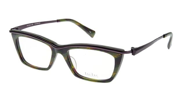 <Oh My Glasses TOKYO> 送料無料!ツェツェ T2204-5 メガネ(眼鏡) ウェリントン tsetse-t2204-5 マルチカラー メタルフレーム フルリム tse tse 度付き 伊達メガネ 即日発送 メンズ画像