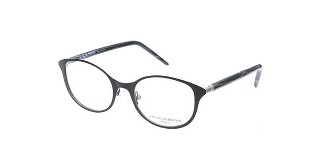 【送料無料】フランソワ パントン PC28-L860 メガネ(眼鏡) バタフライ francois-pinton-pc28-l860 ブラック 黒 セルフレーム フルリム FRANCOIS PINTON 度付き 伊達メガネ 即日発送 ユニセックス