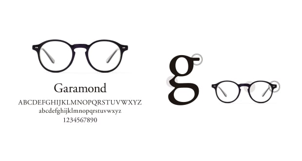 TYPE(Type) TYPE Garamond Regular-Tortoise Sunglasses
