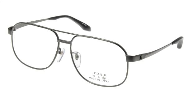 【送料無料】グランダム VT-307-C-4-62 メガネ(眼鏡) ウェリントン grande-dame-vt-307-c-4-62 グレー 灰 メタルフレーム フルリム grande dame 度付き 伊達メガネ 即日発送 メンズ