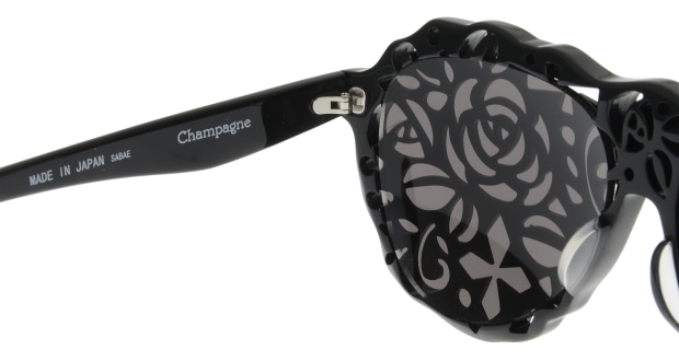 シャンパン(Champagne) シャンパン PJ-06-薔薇-髑髏