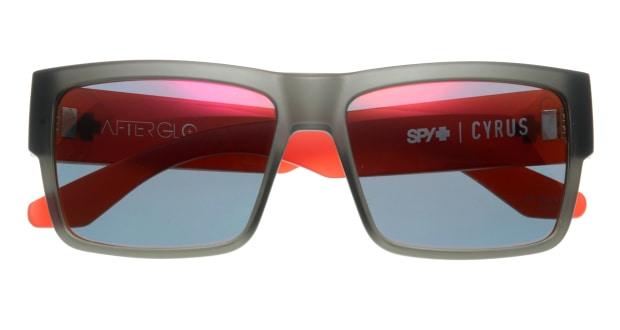 スパイ(SPY) スパイ CYRUS-AFTERGLO CHERRY BOMB- GREY w/RED SPECTRA