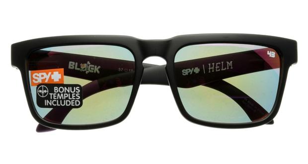 スパイ(SPY) スパイ HELM-SPY+KEN BLOCK-MATTE BLACK LIVERY 2013-GREY