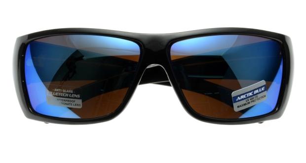スポーツサングラス(Sports Sunglasses) スポーツサングラス ARCTIC BLUE-AB-01-1Black1