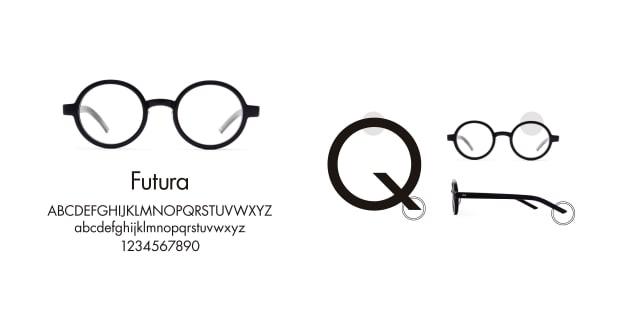 TYPE(Type) TYPE Futura Light Clear