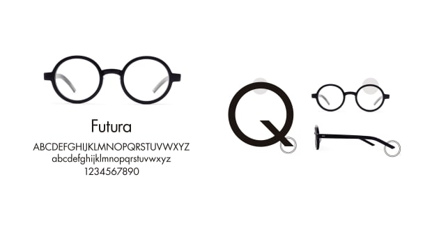 TYPE(Type) TYPE Futura Bold Clear