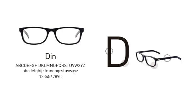 TYPE(Type) TYPE Din Regular Clear