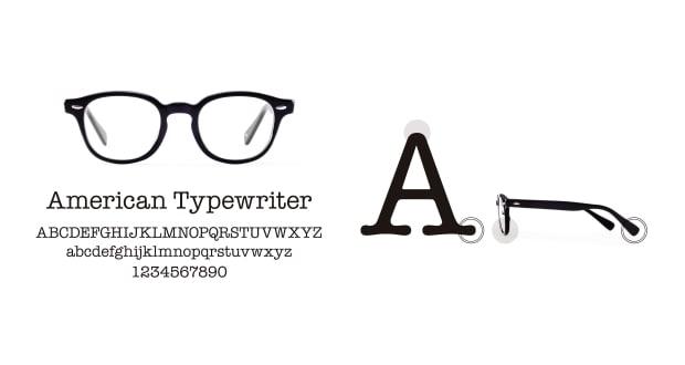 TYPE(Type) TYPE American Typewriter Light-Black