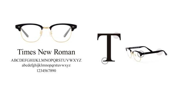 TYPE(Type) TYPE Times New Roman Light-Tortoise Sunglasses