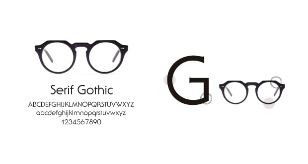 TYPE(Type) TYPE Serif Gothic Light-Black