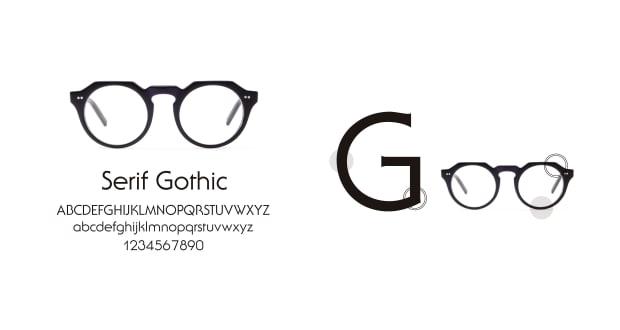 TYPE(Type) TYPE Serif Gothic Regular-Clear