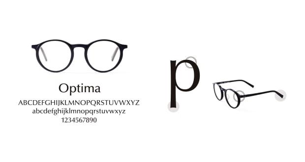 TYPE(Type) TYPE Optima Bold-Black