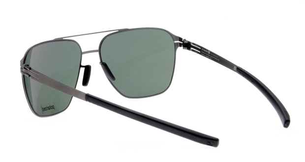 アイシーベルリン(ic! Berlin) アイシーベルリン Jonathan I.-Graphite-Black-Green Polarized