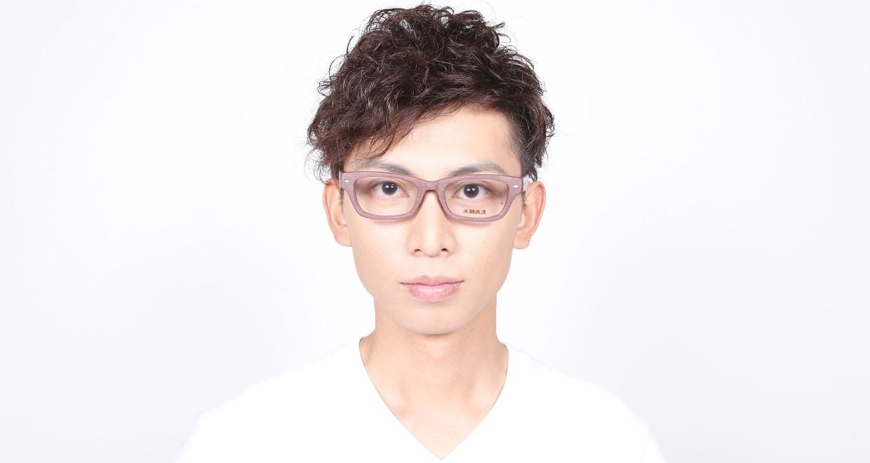 木調浪漫 八 くわ [鯖江産/ウェリントン/茶色]  5