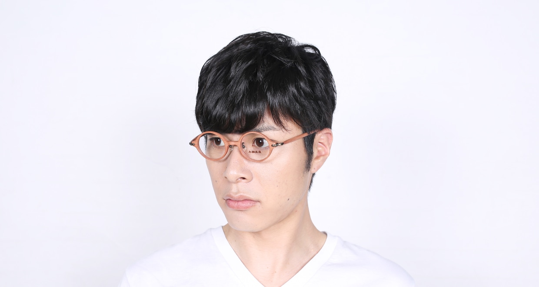 木調浪漫 拾 なら [丸メガネ/茶色]  6