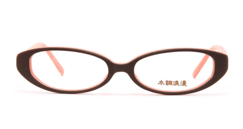 木調浪漫 拾参 みかん [鯖江産/フォックス/オレンジ]  1