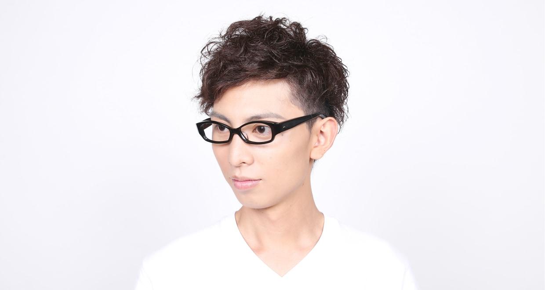 角矢甚治郎 其拾七 イ [黒縁/フォックス]  6