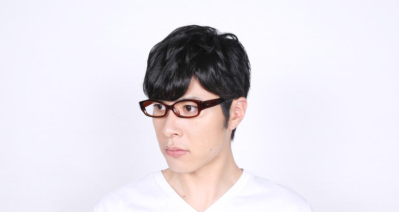 角矢甚治郎 其拾七 ロ [鯖江産/フォックス/茶色]  6
