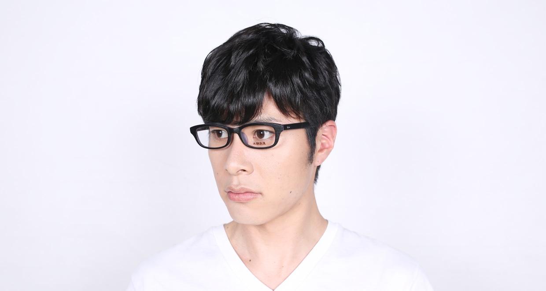 木調浪漫 参拾 くろがき [黒縁/鯖江産/ウェリントン]  8