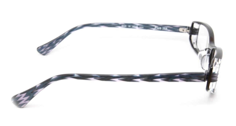 プラスサバエ PJ60-1 [黒縁/スクエア]  2