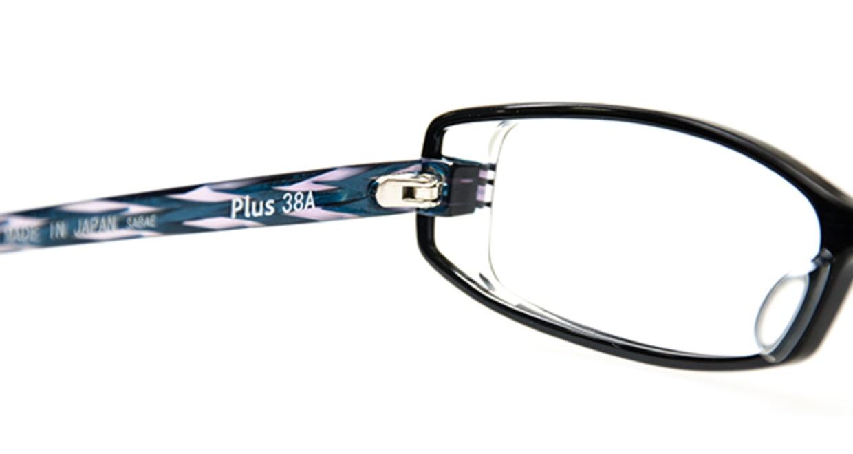 プラスサバエ PJ60-1 [黒縁/スクエア]  4