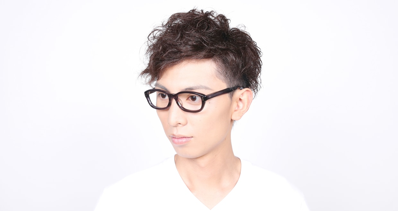 角矢甚治郎 其弐拾 ニ [黒縁/鯖江産/ウェリントン]  6
