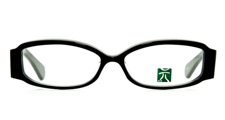 元 押し花 オレンジ [黒縁/フォックス]  1