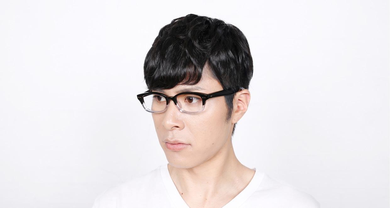 角矢甚治郎 其弐拾参 ヌ [黒縁/ウェリントン]  6