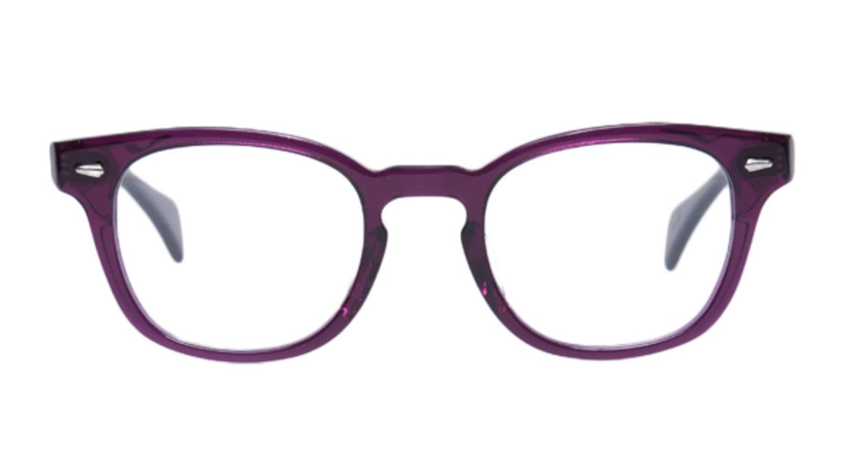 フェイスフォント CL-851-05 [ウェリントン/紫]  1