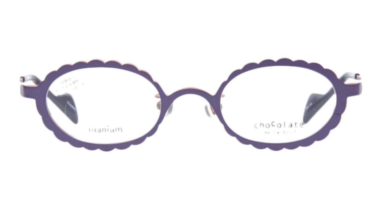 ティフィール HIMAWARI-301 [メタル/オーバル/紫]  1