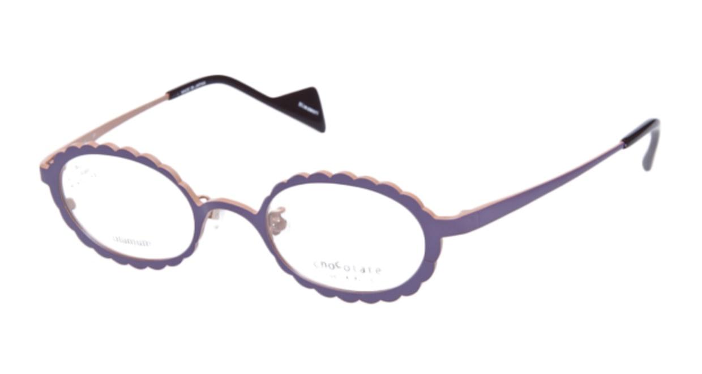 ティフィール HIMAWARI-301 [メタル/オーバル/紫]
