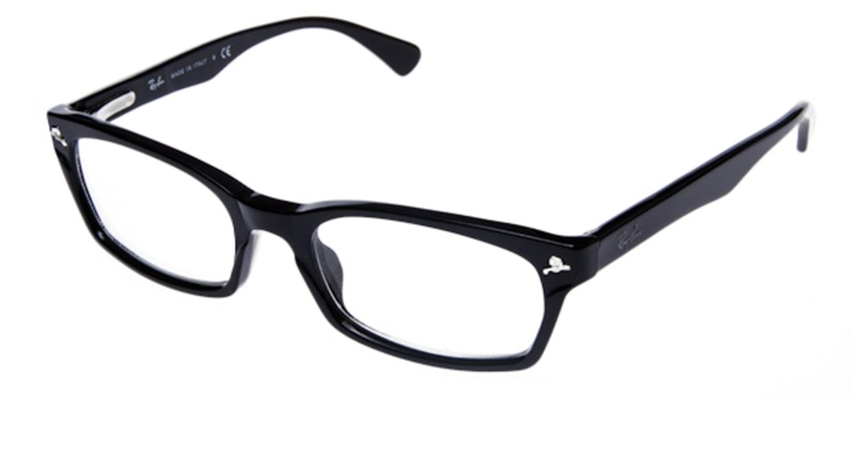 レイバン RX5017A-2000-52 [黒縁/ウェリントン]